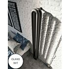 Instamat design radiator Tubone-V dubbel element glans wit - 200 x 21 cm