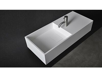 Ideavit Solid Surface wastafel Solidplan