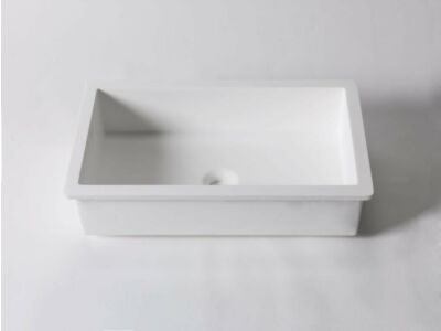 Krion Solid Surface onderbouw wasbak 48 x 28 cm